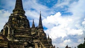 Wat Si Sanphet: Ayutthaya trip Southeast Asia travel