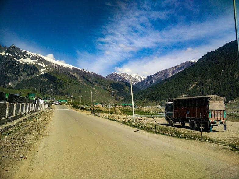 Kashmir mountain roads