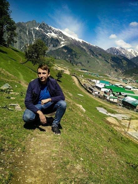 Gulmarg nature, Kashmir region