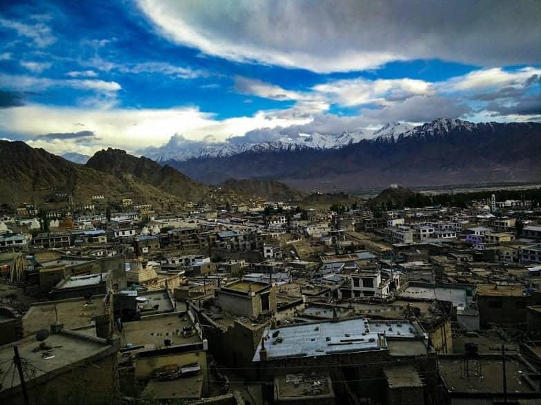 View of Leh, Kashmir