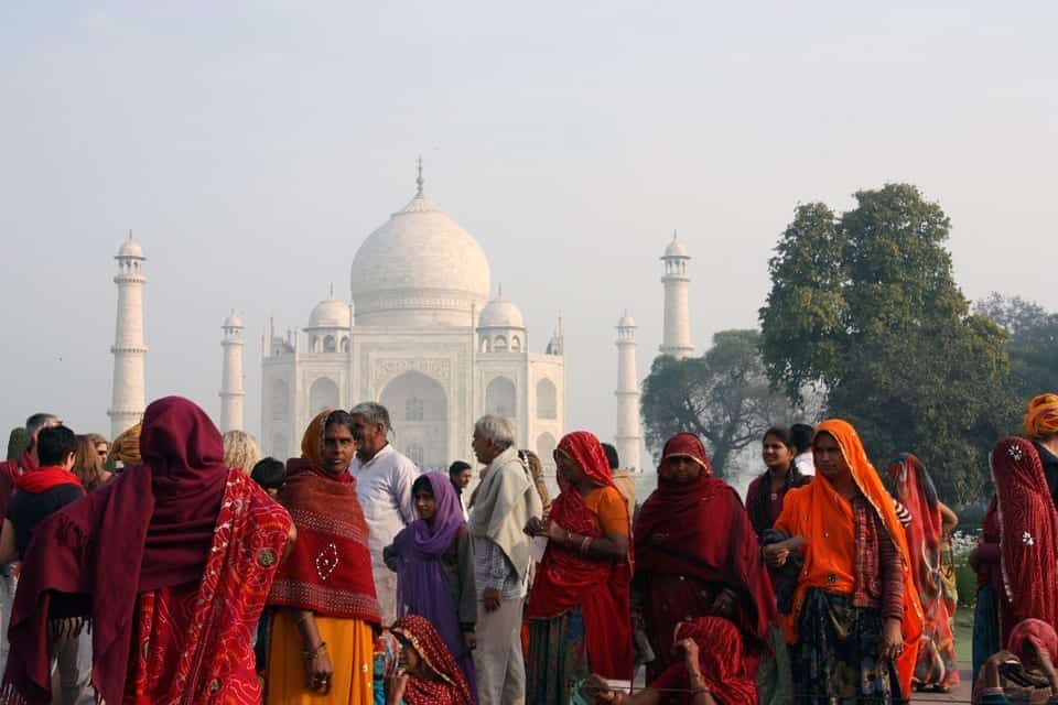 Taj Mahal: life in India