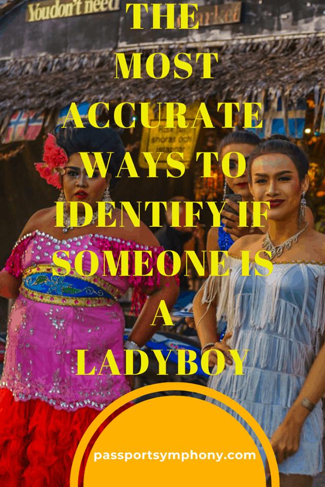 recognize ladyboys
