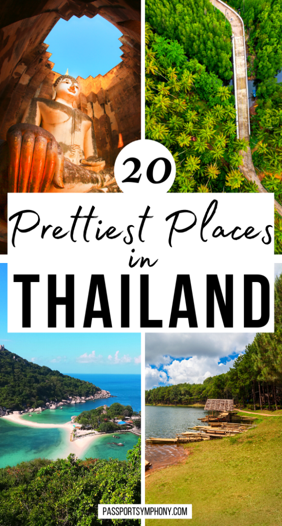 20 Prettiest Places in THAILAND