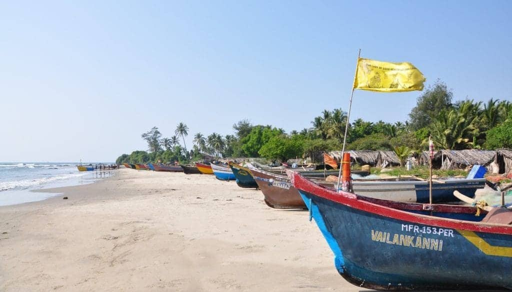 goa beach Goa isn't the backpacker's paradise