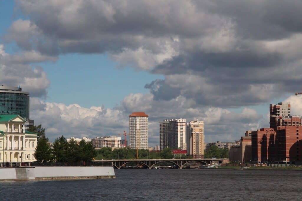 yekaterinburg riverfront