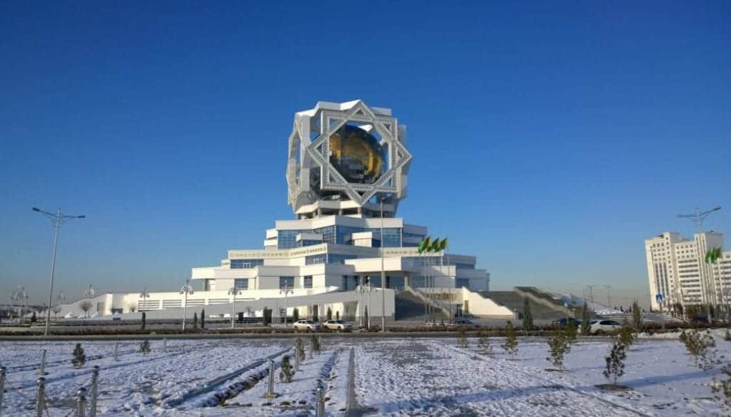 palace-ashgabat Turkmenistan