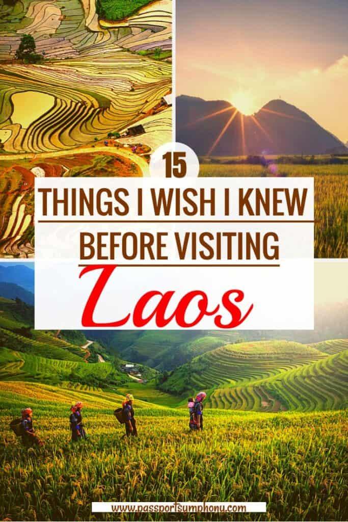 visiting laos