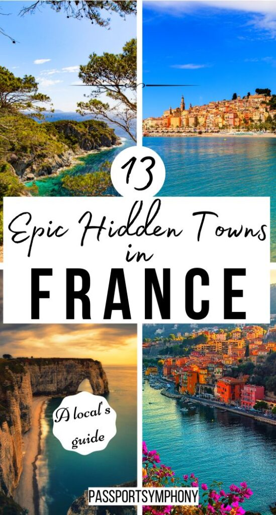 13 epic hidden towns in france