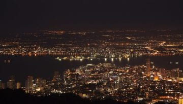 Penang at night
