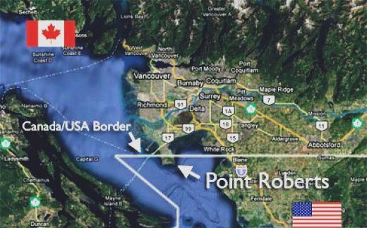 strangest interational borders
