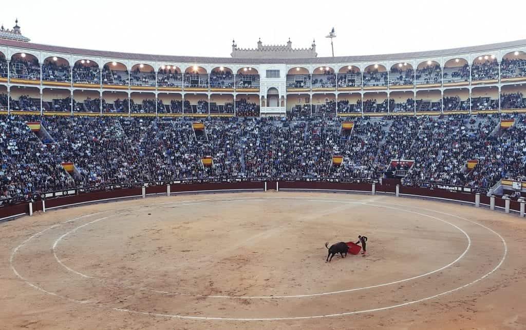 things to see in Spain bullfight