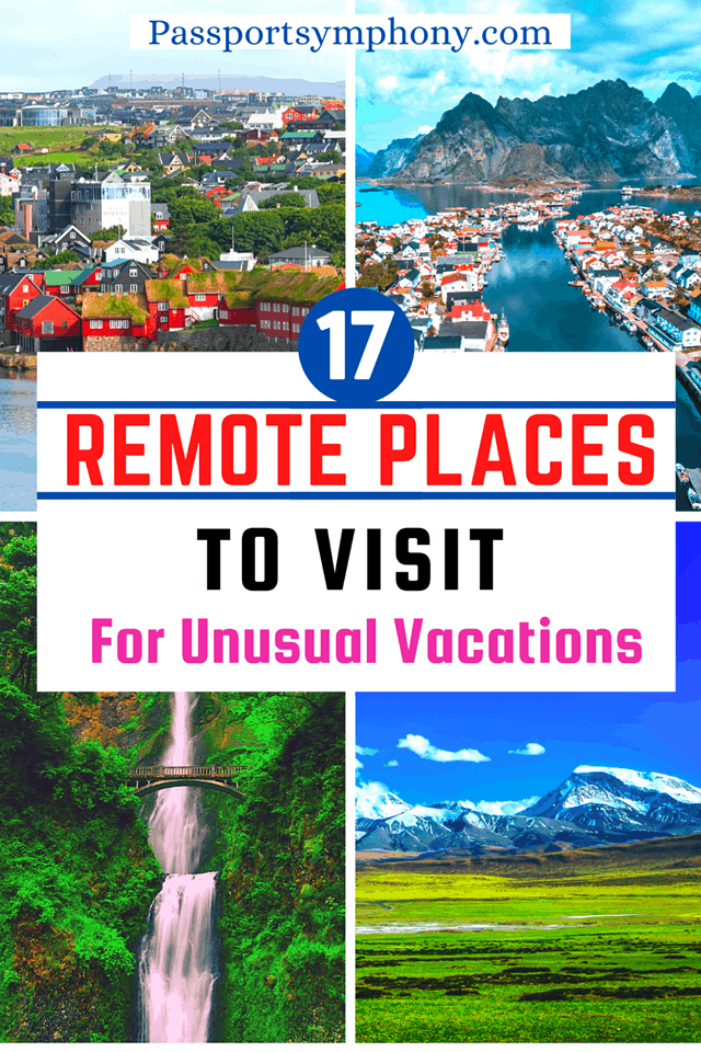 most remote places in the world