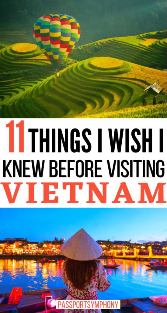 11 THINGS I WISH I KNEW BEFORE VISITING VIETNAM