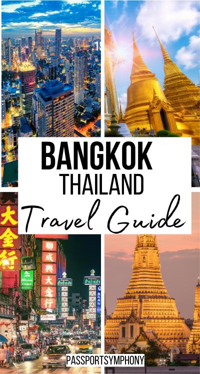 Bangkok thailand trave guide