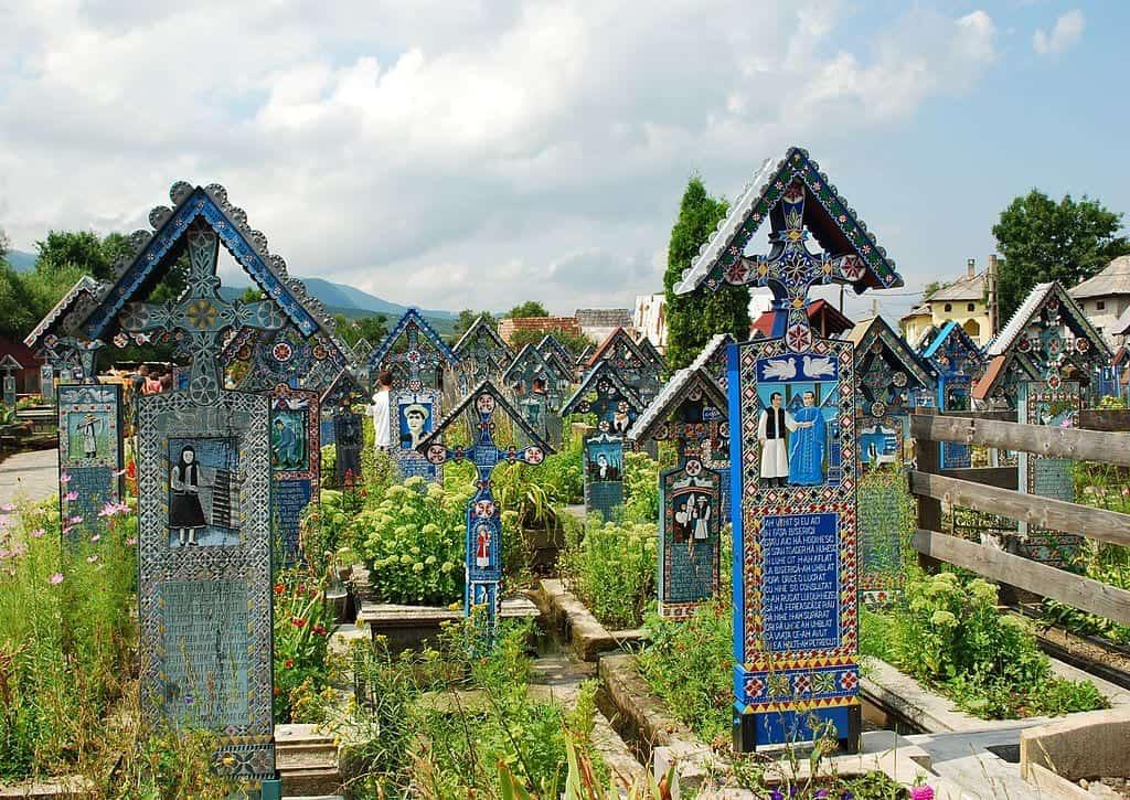 The Merry Cemetery in Săpânța