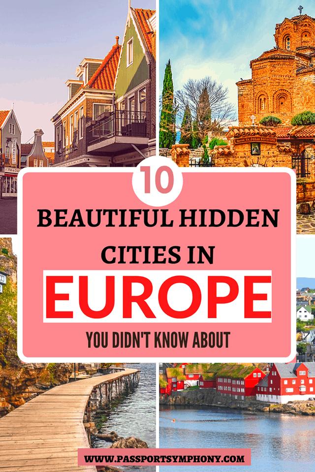 hidden cities in europe