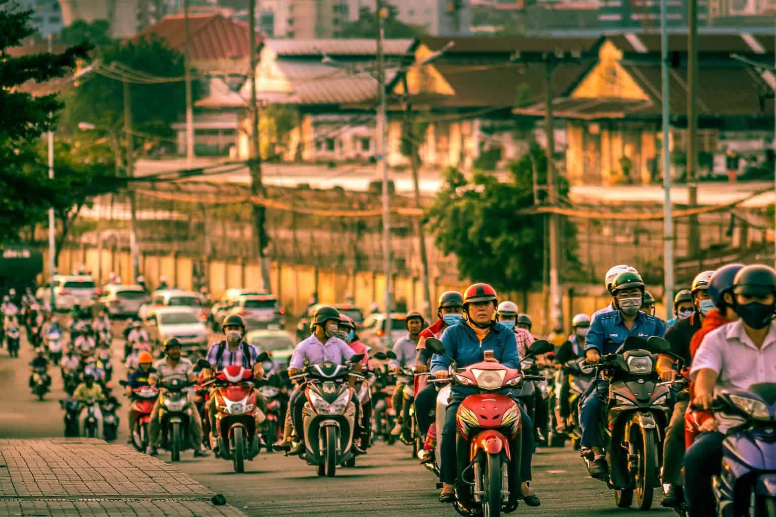 vietnam motorbike