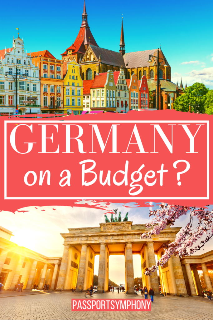 Germany on a budget