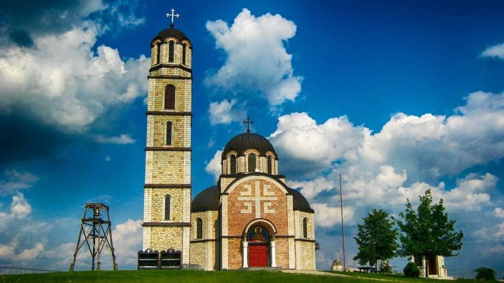 Serbia church