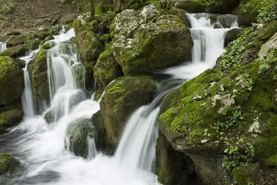 serbia waterfall