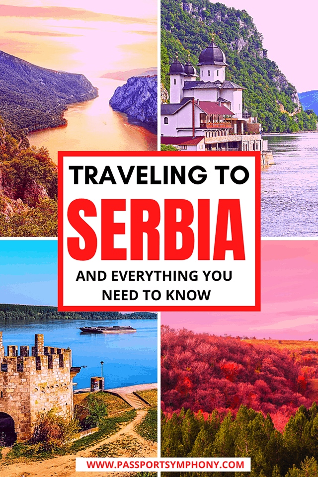 traveling to serbia