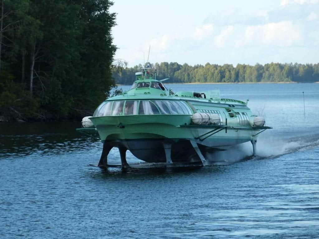 Alternative methods of transportation: Hydrofoil
