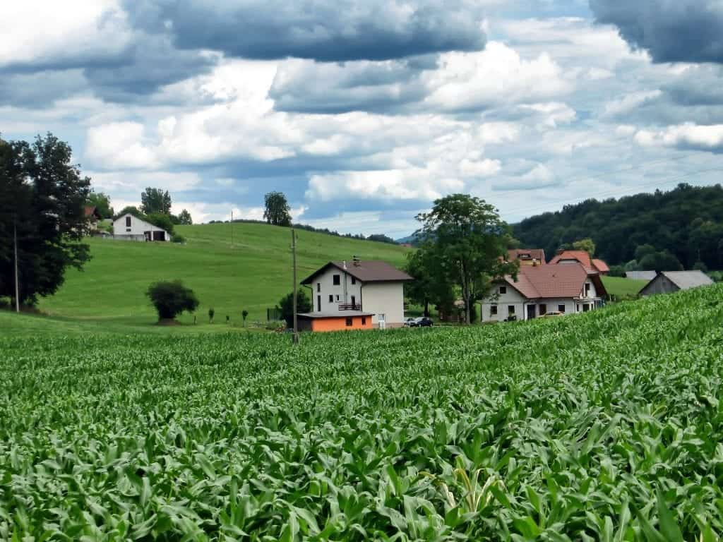 village Slovenia