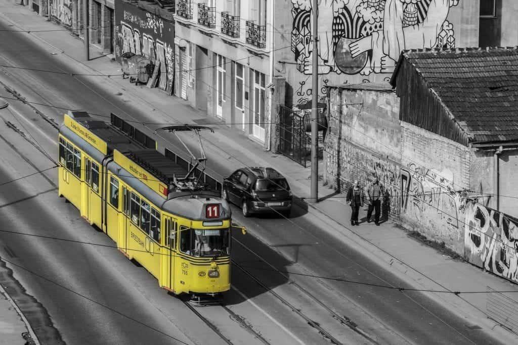 Belgrade train