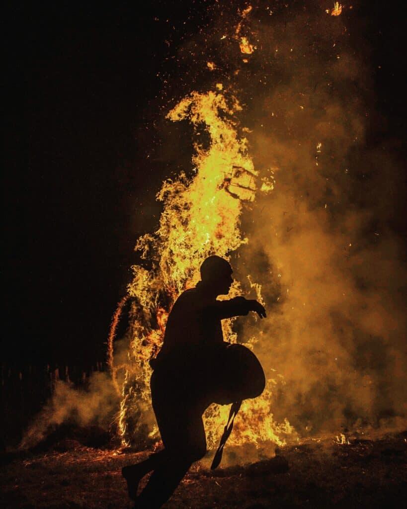 Agni Keli unusual indian festivals