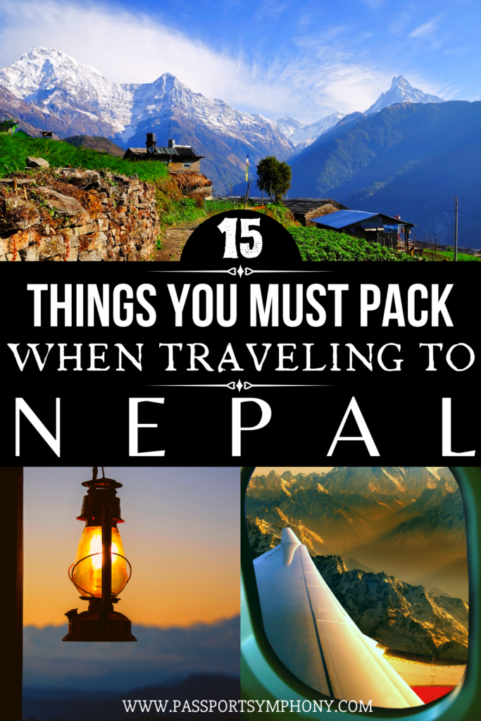 packing list for nepal