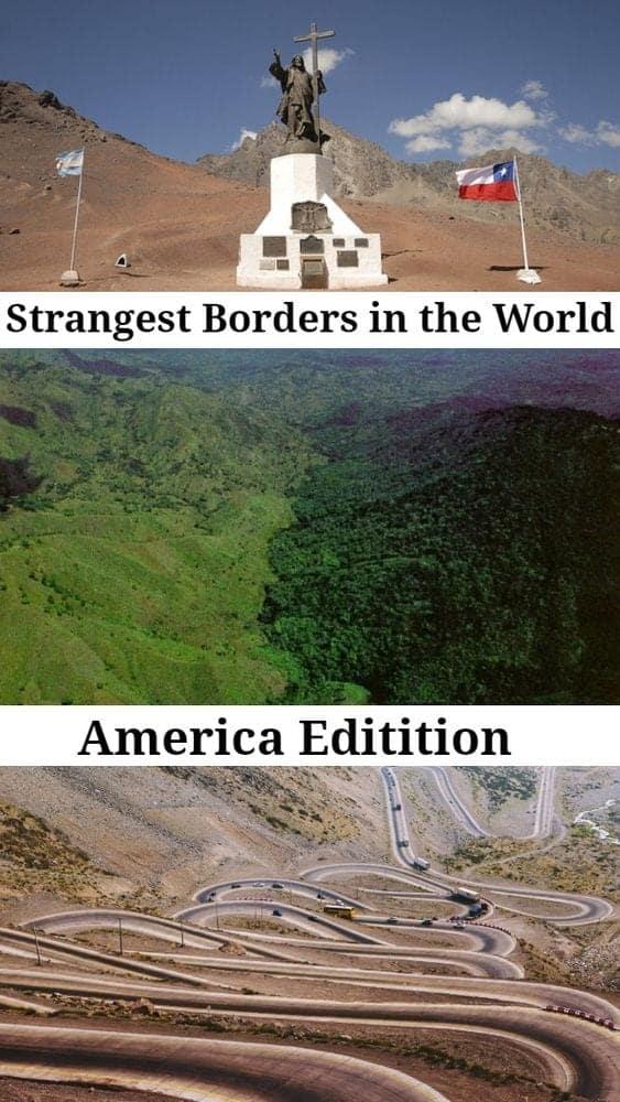 strangest borders america