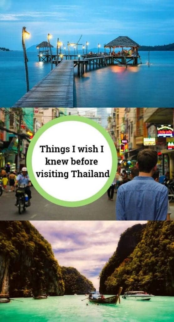 things to know before visiting Thailand