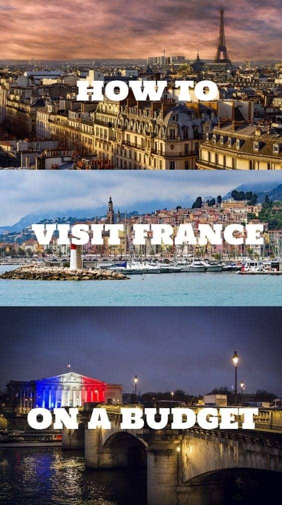 visit france on a budget