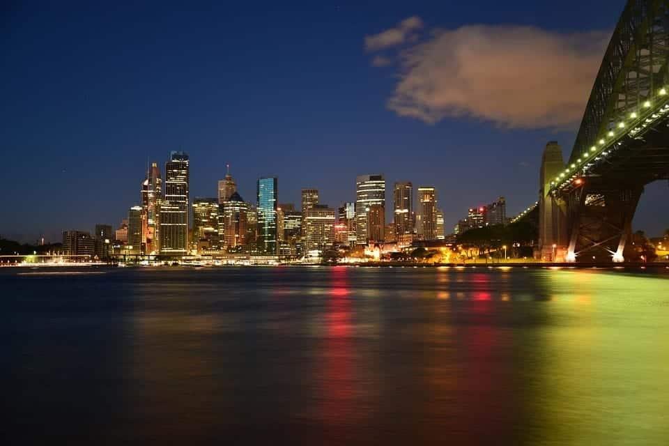 Sydney night