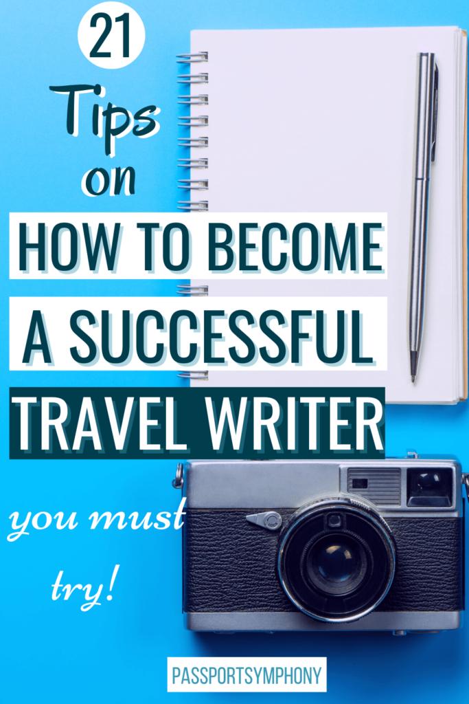travel writing tips