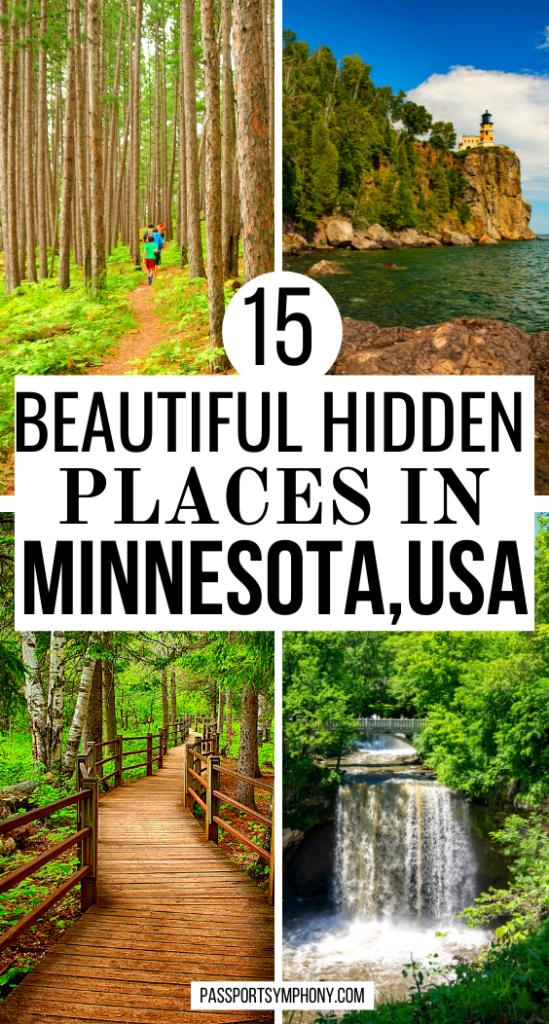 15 beautiful hidden places in MINNESOTA, USA