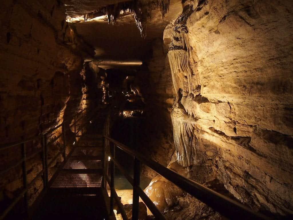 Niagara Cave hidden gems in minnesota