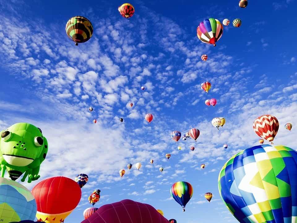Albuquerque hot air balloons