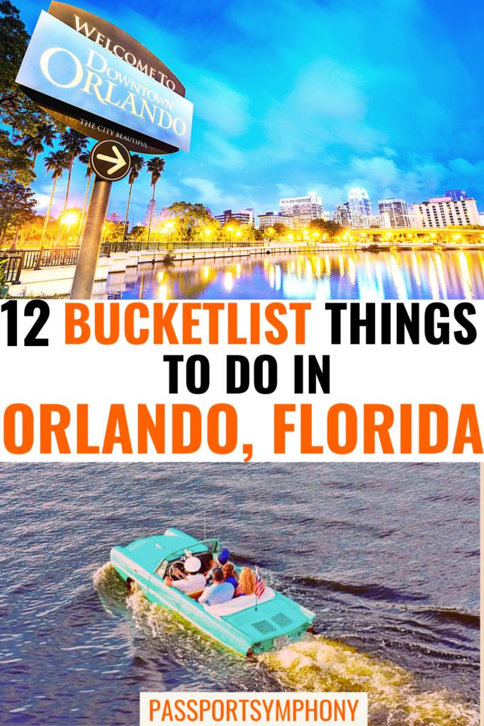 12 bucketlist things to do in Orlando