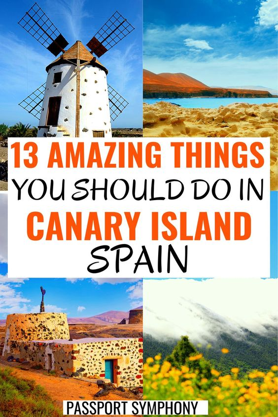 things to do in canary islands