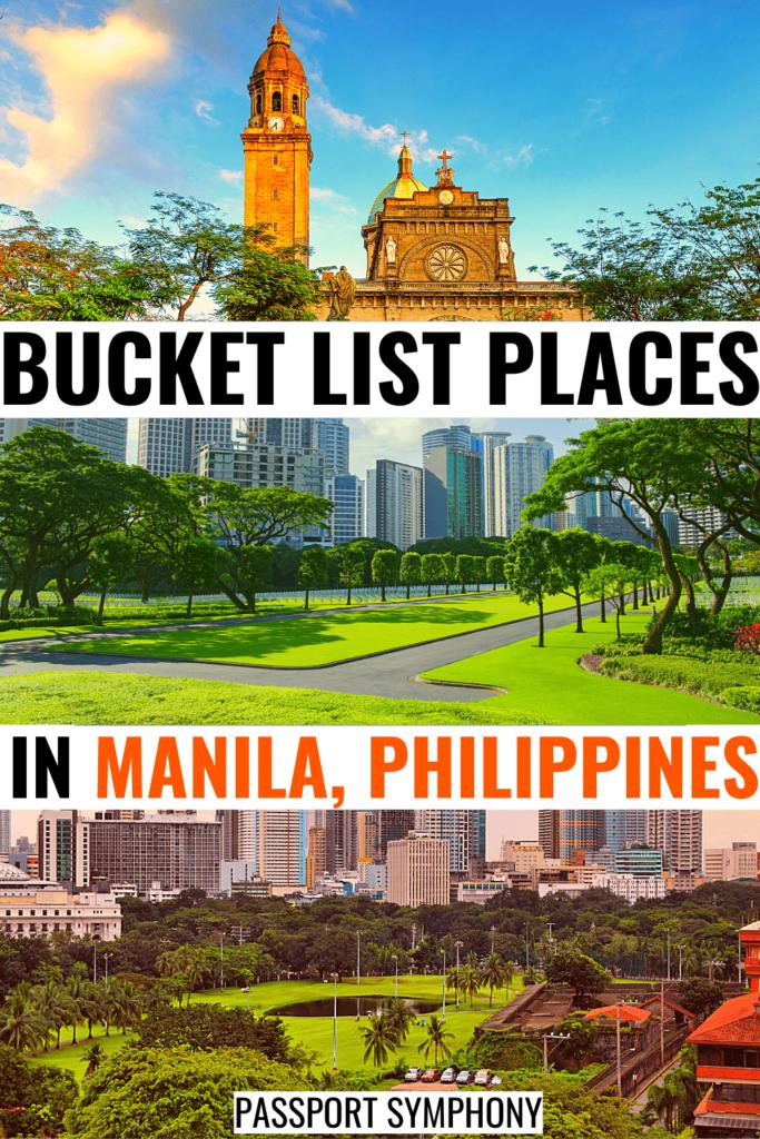 hidden gems in manila bucket list