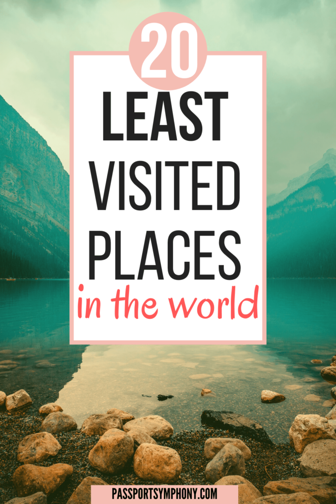 least visited countries in the world