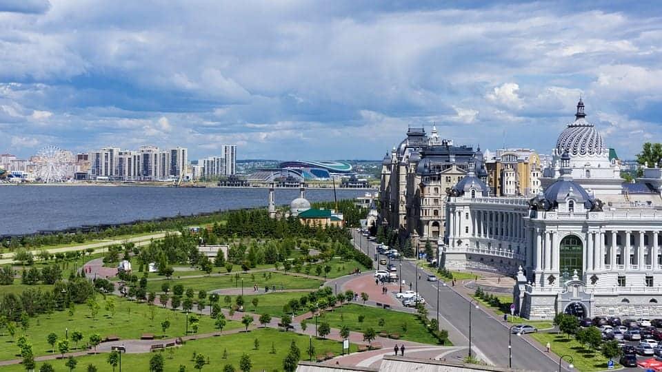 Kazan vaction spots in russia