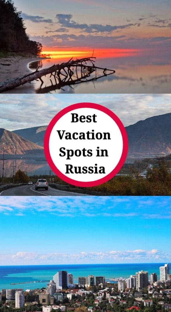 vacation spots in russia