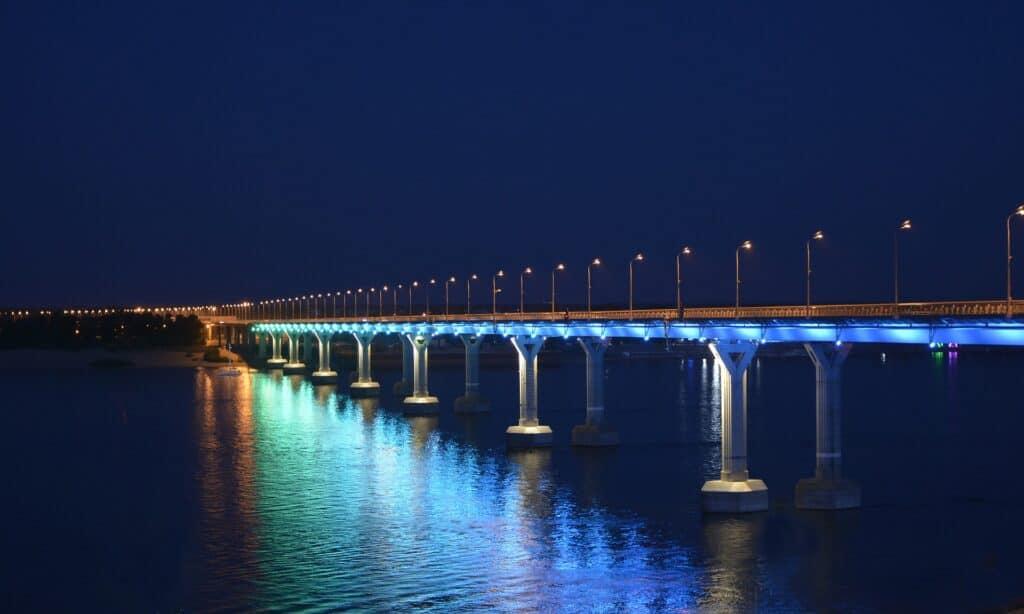 volga bridge