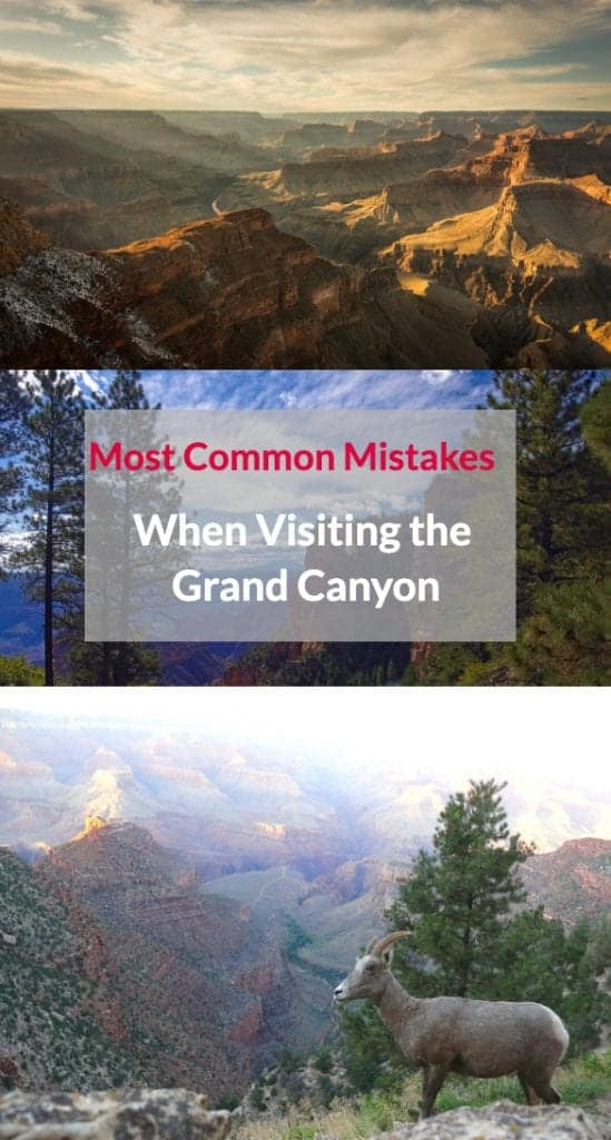 grand canyon mistakes