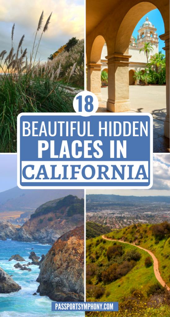 18 BEAUTIFUL HIDDEN PLACES IN CALIFORNIA
