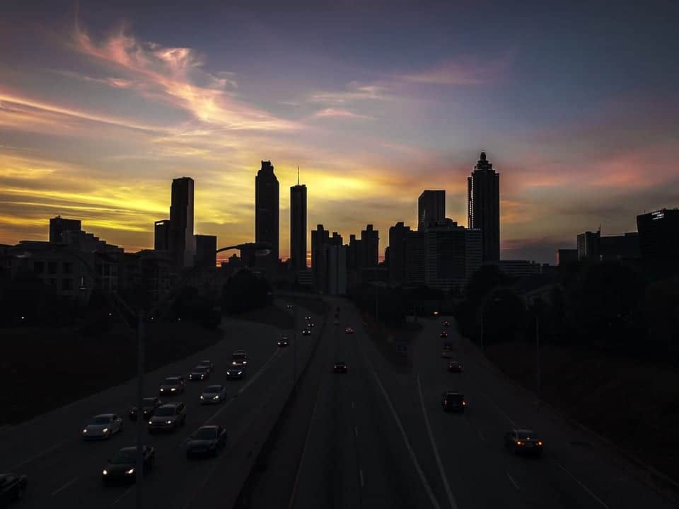 sunset atlanta