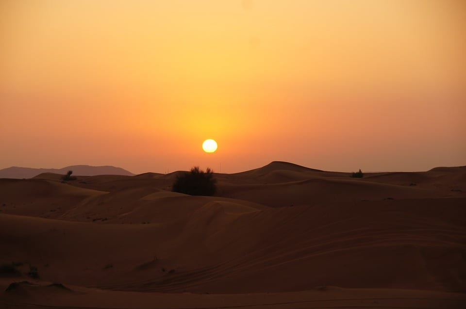 Dubai heat