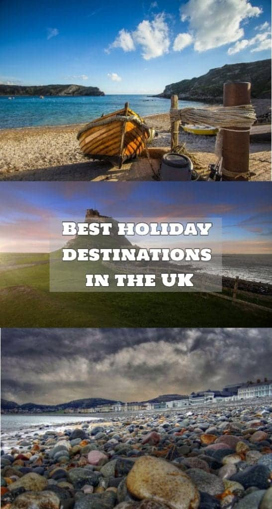 holiday destinations in the UK
